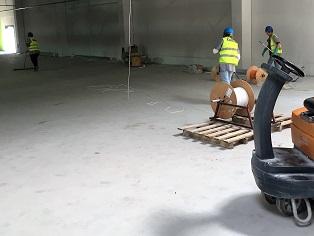 Sprzątanie po budowie lub remoncie