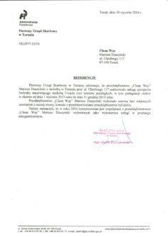 referencje Pierwszy urząd skarbowy-1